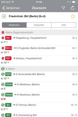 BVG FahrInfo Plus Berlin screenshot 4