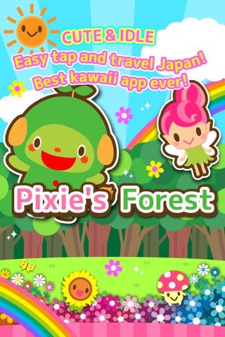 【放置】 ピクシーの森 - かわいい ほのぼの系 育成 アドベンチャー ゲーム- screenshot 1