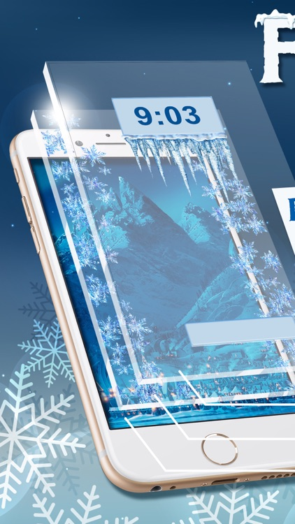 Frozen Wallpapers Collection Beautiful Winter Wallpaper Maker With Ice And Snow Backgrounds
