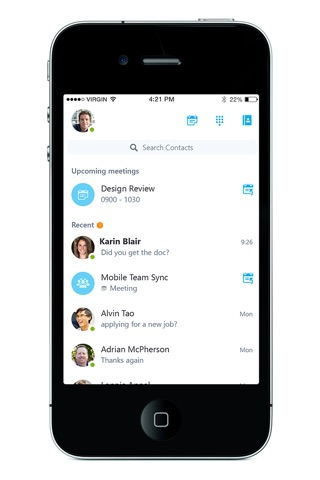 Skype for Business screenshot 1