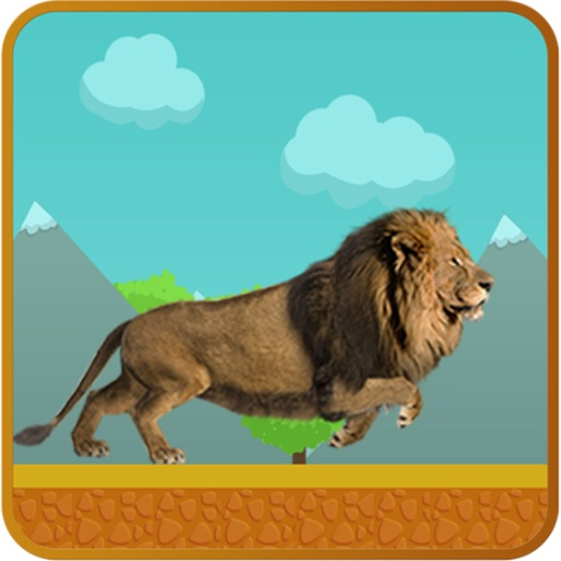 Wild Lion Run - Endless Free iOS App