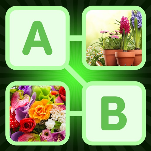 Hidden Words & Pics - Plants Edition iOS App