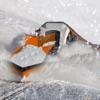 Snow Plow Rescue Train Driving 3D Simulator