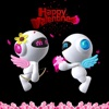 Valentine's Day: Flying Robot love - for kids