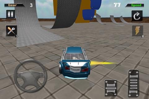 3D HD Car Extreme Racing Stunt Simulator screenshot 2