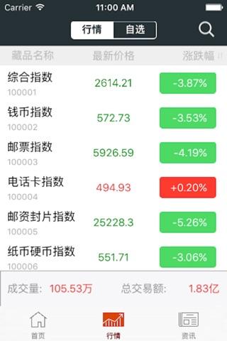 邮币卡行情for南京文交所 screenshot 3