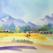 Watercolor Painting a Landscape
