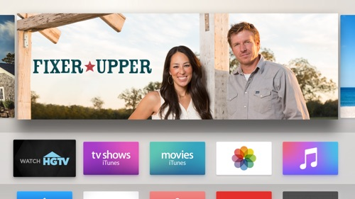 how to get hgtv on apple tv