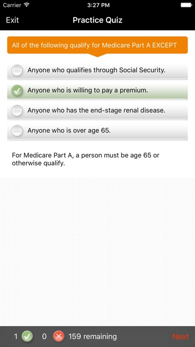 Screenshot for ExamFX Life & Health Exam Prep in United States App Store
