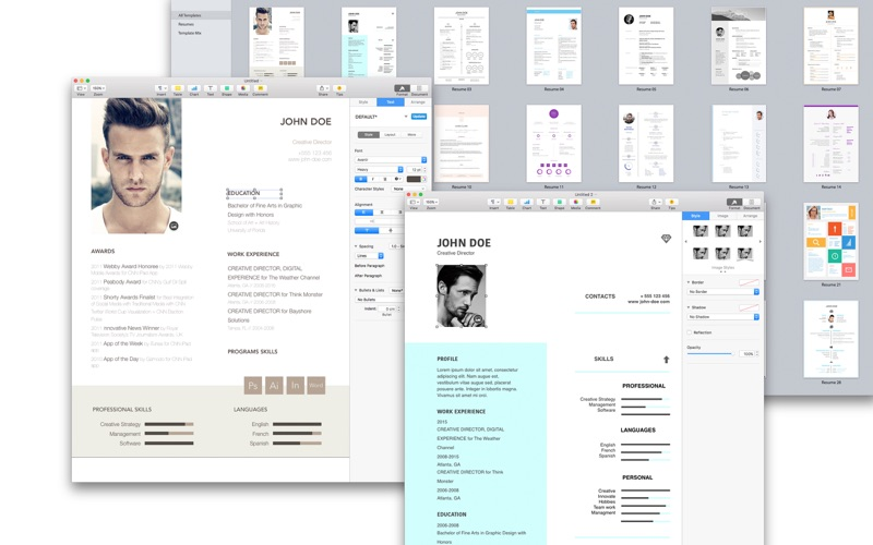 Resume & Cv Expert - Templates For Pages On The Mac App Store