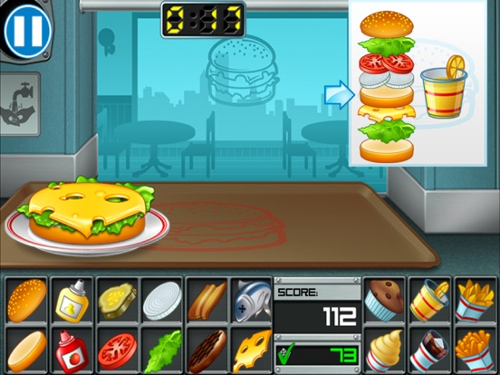 Screenshots of Burger for iPad