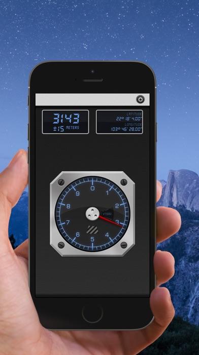 Screenshot #2 pour Altimeter 13 - Altitude Meter