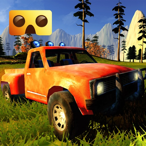 Off-Road Virtual Reality Game : VR Game For Google Cardboard iOS App