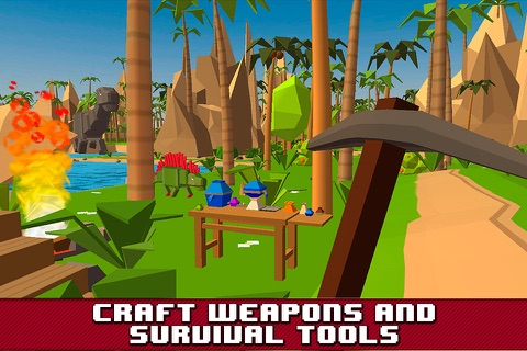 Dino Island Survival Simulator 3D Full screenshot 2