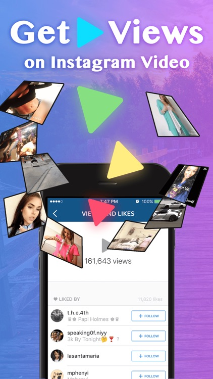 Get Video Views for Instagram - Get 1000 more free instagram