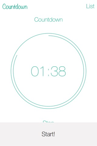 Countdown-A simple and beautyful timepiece. screenshot 3