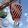 City Tower Crane 3D Simulator Full - Real city construction taoyuan city
