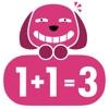 1+2=3