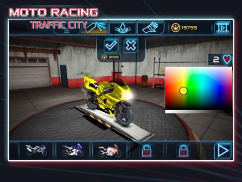 Игра Moto Racing: Traffic City