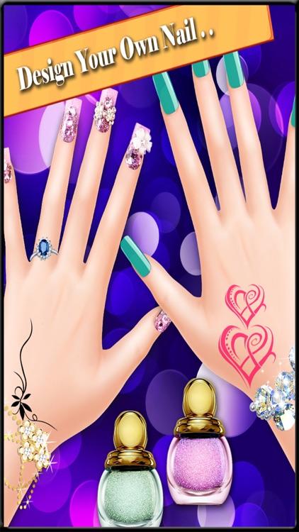 Nail Art Design - Girls Game by Akash Patel