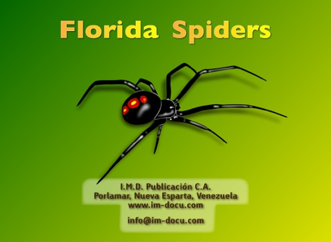 Florida Spiders - Guide to Common Species screenshot 1