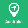 BigGuide Australia Map + Ultimate Tourist Guide and Offline Voice Navigator