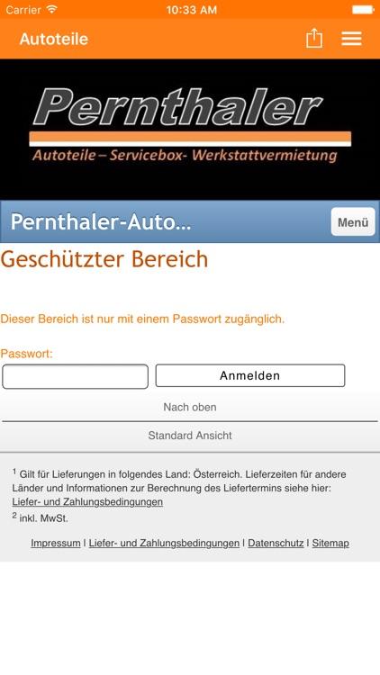 Autoteile Pernthaler by Tobit.Software