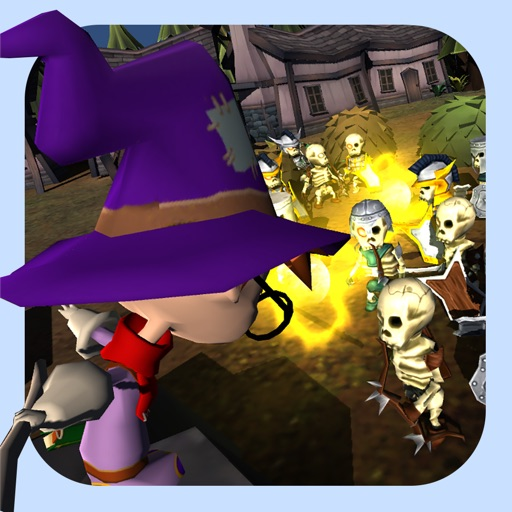 Fantasy Mage - Defend the Village Against the Army of the Dead