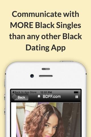 Black Dating For Free screenshot 2