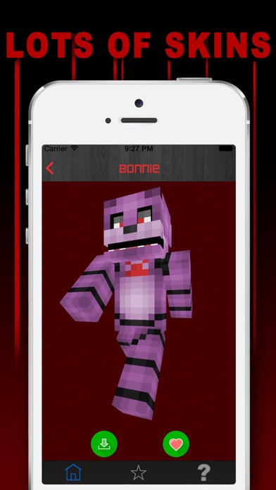 Screenshots of Free Skins for Minecraft PE (Pocket Edition)- Newest Skin for FNAF for iPhone