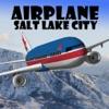 Airplane Salt Lake City