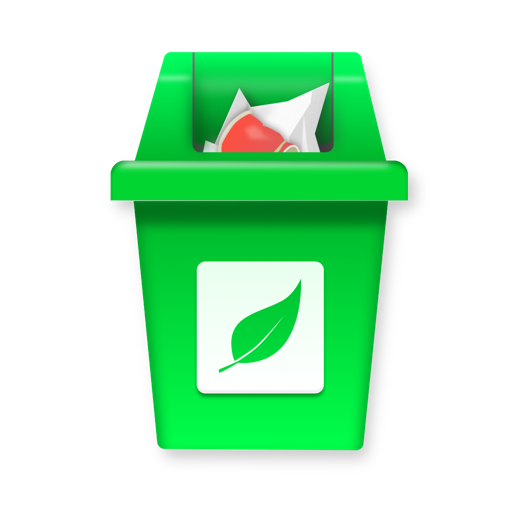 儿童有趣的回收游戏—垃圾分类