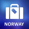 Norway Detailed Offline Map norway map