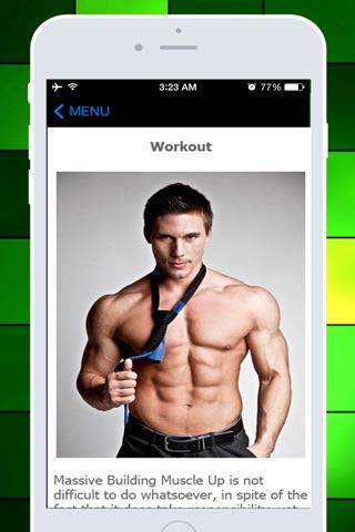 Bulkup Guide Pro - Let's Build the Massive Muscles! screenshot 2