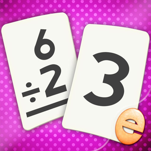 Division Flashcard Match Games for Kids in 2nd, 3rd and 4th Grade