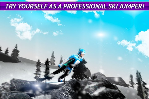 Ski Jumping Freestyle 3D screenshot 1