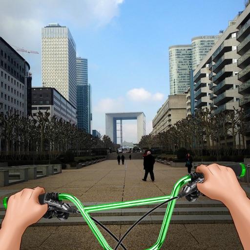 Водить BMX в Городе Симулятор