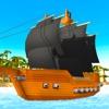 Pixel Pirate Ship Simulator 3D
