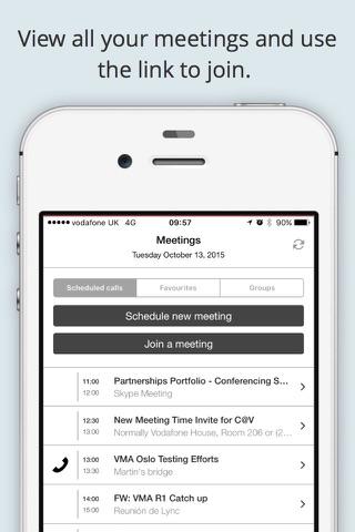 Vodafone Meet Anywhere screenshot 2