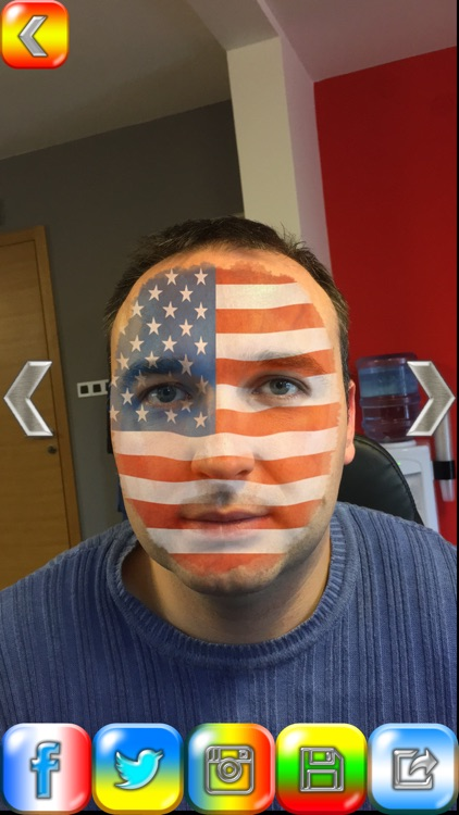 Flag face photo editor 2016 best fan booth to paint yourself in flag face photo editor 2016 best fan booth to paint yourself in colors of your solutioingenieria Gallery