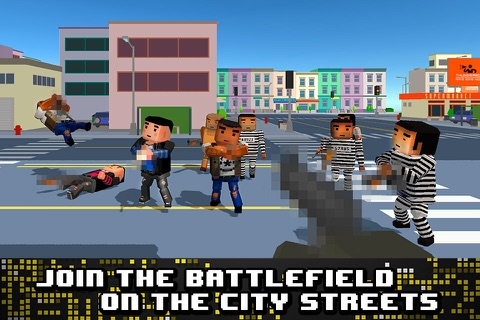 Pixel Wars: City Battlefield 3D screenshot 1