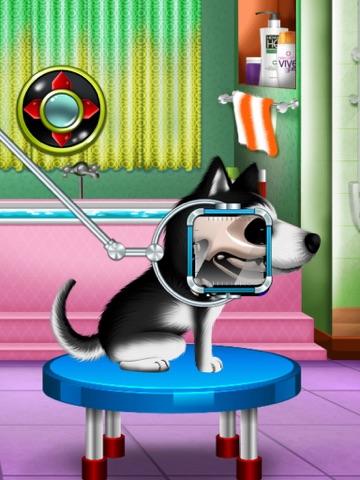 Игра мыть и лечить домашних животных : помочь кошек и щенков ! Бесплатная игра