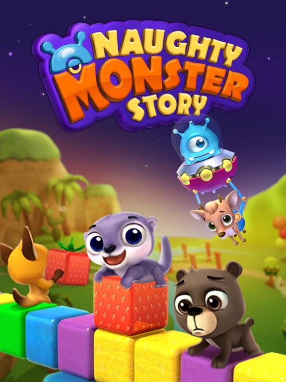 Naughty Monster Story на iPad