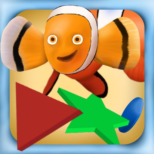 Wiggle Shapes - Touch, Move, Match! For active kids from 3 years iOS App
