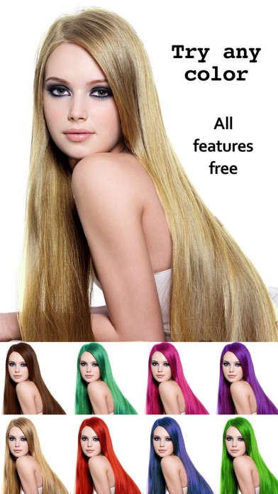 Hair Colour Lab - Change, Dye or Re-colours for a Beauty ...
