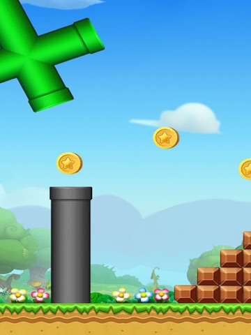 Screenshots of Super Bird  Adventure: Run and Jump Flappy Free Games for Kids by Top Fun 2 for iPad