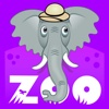 Zoo Bubble Match zoo animals clipart
