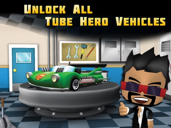 Screenshot #2 for Tube Heroes Racers