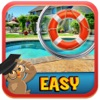 Free Hidden Object Game : A Pool – Sort through and Find Objects & Items in Hidden Scenes