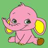 Kids Coloring Book - Cute Animals Kumamoto